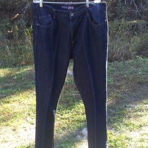 Coogi dark blue jeans